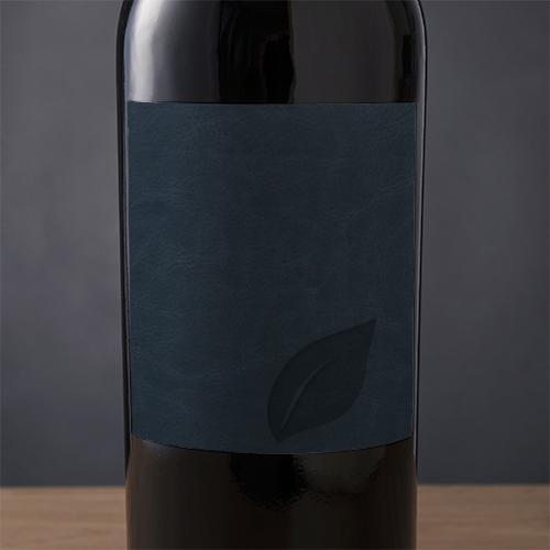 Black PU Label Material